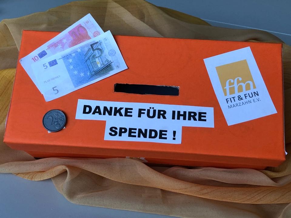 Spendenbox