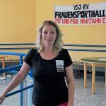 Yvonne Blankenforth (Übungsleiterin, stellv. Vorsitzende, Sportwartin FFM e.V.)