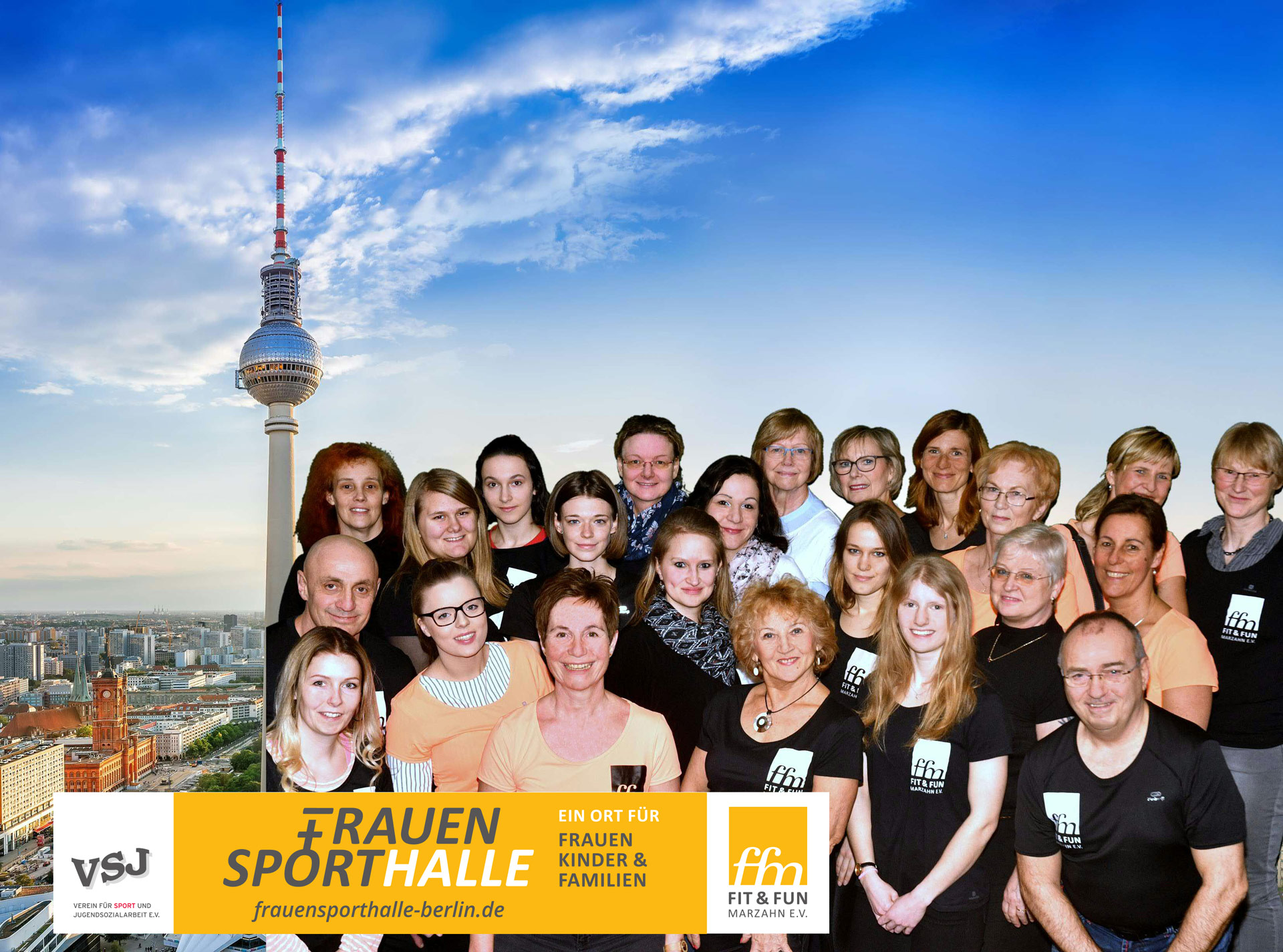 Frauensporthalle Teamfoto