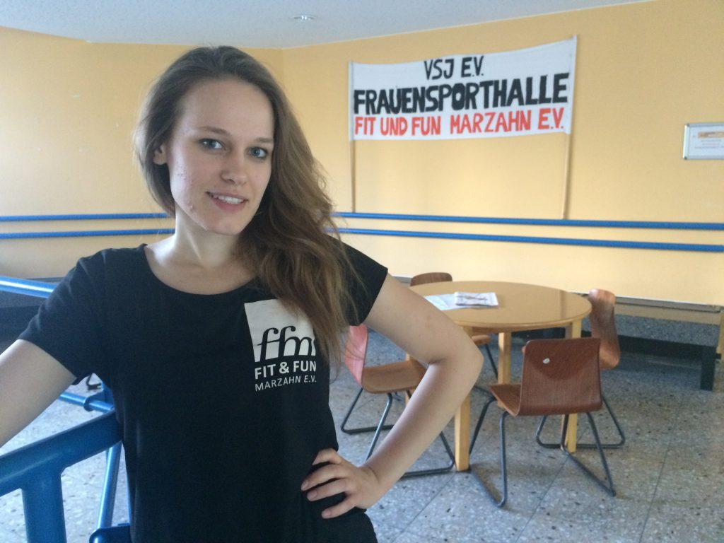 Marleen Schleusener (Übungsleiterin)