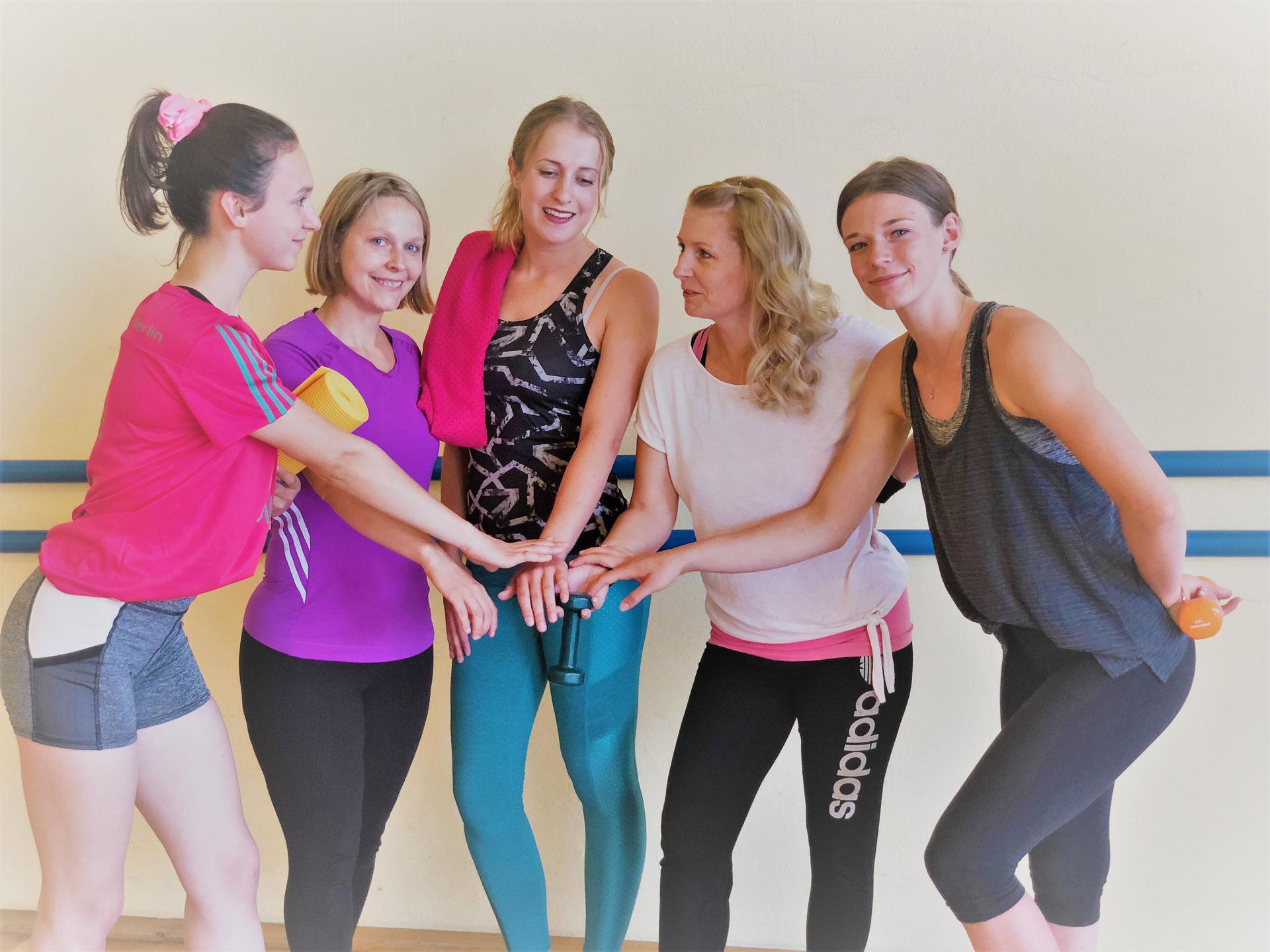 Frauengruppe-jung